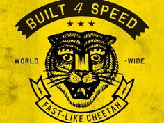 Built 4 Speed by Curtis Jinkins via Dribbble