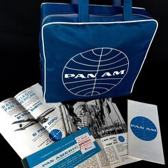 Pan Am (1964) International Airlines, Pan Am, Luggage Labels, United Airlines, Air Travel, Worlds Of Fun, Vintage Travel, Travel Around The World, Golden Age