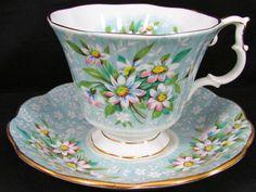 Royal Albert Festival Series Saville Floral Tea Cup and Saucer | eBay