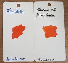 Akkerman #16 Oranje Boven ~ Inkdependence!