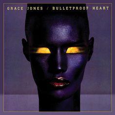 Grace Jones 'Bulletproof Heart' Record Cover