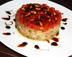 Tartar de atún #recetas #gastronomia