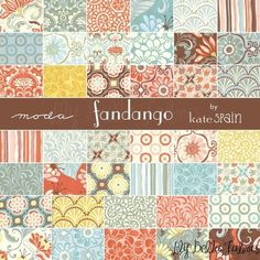 Moda Fandango...just got a 2.5 x 5 pack of this collection.