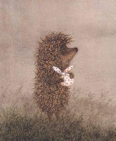 i know you little cutie hedgehog