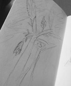 Doodlebug Dabblings: Sketching in the woods