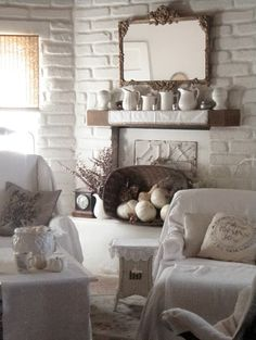 . . . Cabin & Cottage : A Quiet Room In Fall