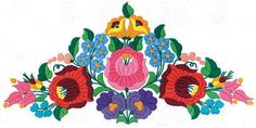 """Folk Embroidery Patterns Képtalálat a következőre: """"kalocsai minták rajzai"""" Hungarian Embroidery, Folk Embroidery, Learn Embroidery, Modern Embroidery, Chain Stitch Embroidery, Embroidery Stitches, Embroidery Designs, Stitch Head, Embroidery Techniques"""