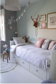Teen Girl Bedrooms, Why not Analyse the exceptional room styling image number 5534254172 Ikea Kids Bedroom, Bedroom For Girls Kids, Big Girl Rooms, Baby Room Decor, Bedroom Decor, Teenage Room, My New Room, Room Inspiration, Home Decor