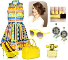 """Neon Navajo"" by hipsterfever on Polyvore"