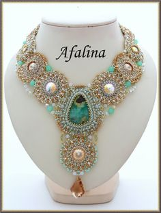 """Gallery.ru / Necklace """"The Lost Atlantis"""" Collection - Spring 2012! - Afalina-Sandra"""