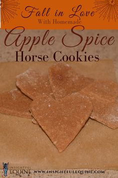 The perfect healthy homemade horse treat recipe for fall Easy cutout cookie horse treats are a great way to show your equine friend some love DIY natural sugarfree horse. Free Horses, Horses And Dogs, Homemade Horse Treats, Horse Cookies, Pet Treats, Kong Treats, Spiced Apples, Cut Out Cookies, Horse Care