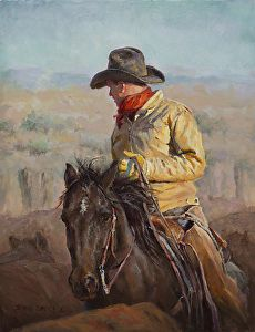 In the Midst by artist Shawn Cameron. #westernart found on the FASO Daily Art Show -  http://dailyartshow.faso.com