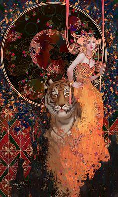 Art by Casimir Lee Arte Obscura, Wow Art, Pretty Art, Aesthetic Art, Oeuvre D'art, Art Inspo, Amazing Art, Art Reference, Character Art
