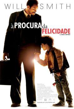 A Procura da Felicidade é um filme baseado em uma história real, com Will Smith e seu filho. É emocionante, tanto pela história como pela atuação de Will Smith.  #indico