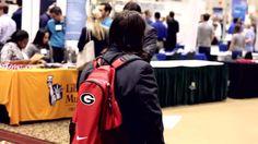 Navigating the UGA Career Fair