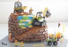 legotaart, lego verjaardagstaart, birthday cake, verjaardagstaart jongen, kitkat taart