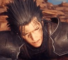 Zack Fair, Final Fantasy Collection, What's So Funny, Final Fantasy Vii Remake, Playing Games, Cloud Strife, Kingdom Hearts, Oil Paintings, Finals