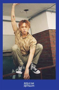 ~E' Dawn (이던) ~Kim Hyo-jong (김효종) ~Main Dancer, Lead Rapper, Vocalist ~June 1994 ~Gemini Triple H, K Pop, Mini Albums, Pentagon Members, Pentagon Group, Pentagon Hongseok, Image Positive, Hyuna, Hip Hop