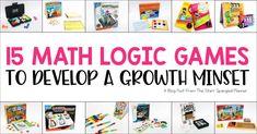 15 Logic Games to Develop a Growth Mindset! - Teaching with Jillian Starr