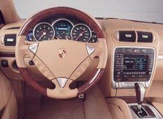 Porsche Cayenne Turbo S cabin interior. Love!