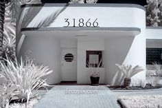 Decopix - The Art Deco Architecture Site - Streamline Moderne Gallery Art Deco Stil, Art Deco Home, Interior Exterior, Exterior Design, Beautiful Architecture, Modern Architecture, Bauhaus, Art Nouveau, Streamline Moderne
