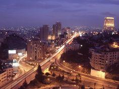 Amman Jordan. so pretty at night