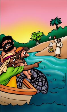 Kids to be fishers of men - Interactive Devotional for kids