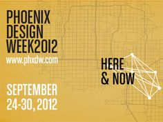 Phoenix Design Week 2012 Postcard - by Mark Dudlik