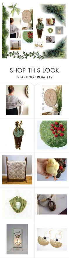 """Whimsy Time !"" by jarmgirl ❤ liked on Polyvore featuring Rustico and vintage"