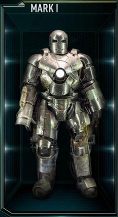 Iron Man Hall of Armors: MARK I