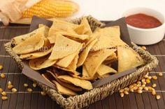 Tortilla Chips selber machen (aus Maistortillas)