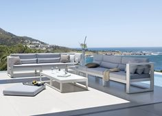 Fuse Corner Garden Sofa  Our new collection of garden furniture from Manutti Belgium is at the top end of the market, made with very high quality materials & designed to last for years & withstand the harshest weather conditions.