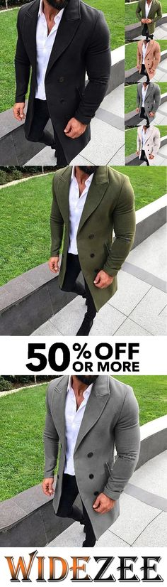 Men's Fashion Solid Color Autumn Winter Buttoned Coat The Effective Pictures We Offer You About tan Blazer Outfit A quality picture can tell you many things. You can find the most beautiful pictures t Blue Blazer Outfit Men, Blazer Outfits Casual, Mens Fashion Suits, Men's Fashion, Color Fashion, Formal Men Outfit, Mens Style Guide, Men's Coats And Jackets, Sharp Dressed Man