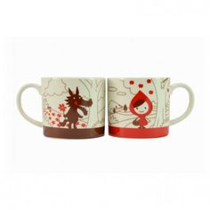 Set de mugs Petit chaperon rouge - Tamtokki