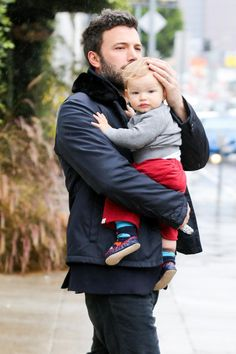 Ben Affleck and son Samuel - Celebrity Baby Scoop