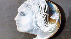 Untitled Enamel on Steel (1973) by Harold B. Helwig