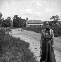 Gabriele Münter- Plainview, Texas.  Trip to America. April,1899.