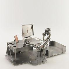 Corporate Gifts - Boss Desk Organizer - Steelman