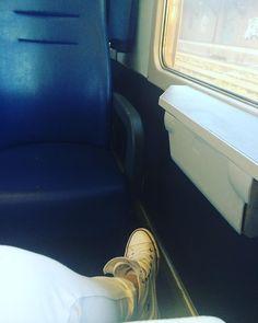 #il#viaggio#della#speranza#treno#train#regionale#veloce#bologna#rimini#regione#incontro#di#lavoro#sulla#farmacovigilanza#gente#people#stanca#work#salute#farmacista#2016#converse#allstar#corsa#white by simonetta_p