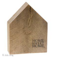 Houten Huisje  Eiken - Home Sweet Home -