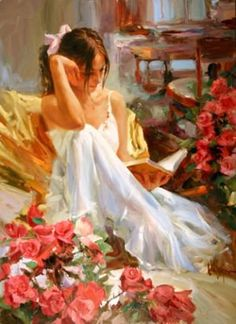 Vladimir Volegov Moment of Reading painting for sale - Vladimir Volegov Moment of Reading is handmade art reproduction; You can shop Vladimir Volegov Moment of Reading painting on canvas or frame. Reading Art, Woman Reading, Vladimir Volegov, Foto Art, Beautiful Paintings, Oeuvre D'art, Female Art, Painting & Drawing, Ballet Painting