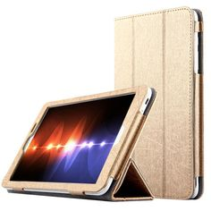 Fashion Flip Folding stand Case Cover For HuaWei MediaPad T1 8.0 S8-701U/S8-701W/T1-821W/T1-823L 8.0 inch Tablet cases + pen