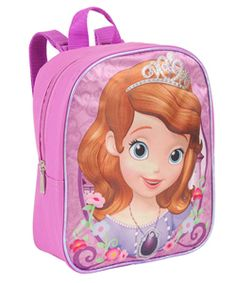 """Sofia the First """"Necklace & Smile"""" Mini Backpack $6.99"""