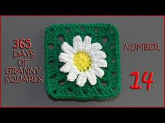 365 Days of Granny Squares Number 14 - YouTube