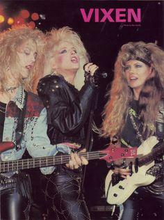 Share, Janet, Jan 80s Rock Bands, 80s Hair Bands, Rock And Roll Bands, Heavy Metal Girl, Heavy Metal Music, Women Of Rock, Rocker Girl, Rock Festivals, Guitar Girl