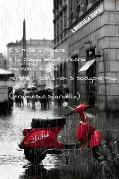 E si mise a piovere...