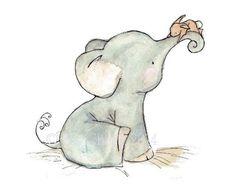 Free print. Elephant & bunny friends. #VintyKids
