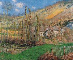 Winter Landscape at the Val de Falaise 1885 Claude Monet