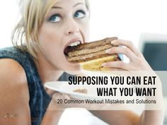 Supposing You Can Eat What You Want  : #diet