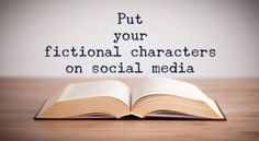 Fictional characters on social media from Build Book Buzz